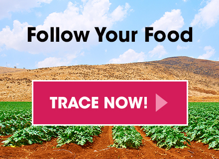 Follow Your Food - Trace Now!