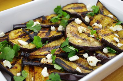 Zesty Grilled Eggplant