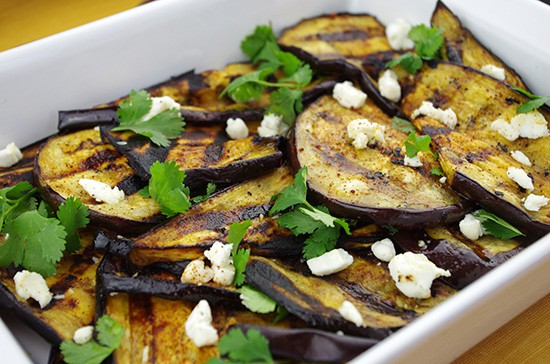 Zesty Grilled Eggplant