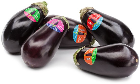 packaged eggplants