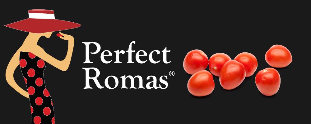 Organic Roma Tomatoes Header